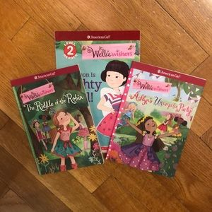 American Girl Wellie Wishers Books Set of 3